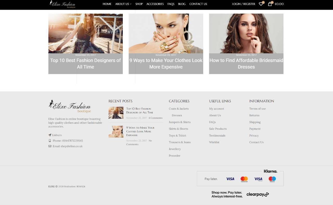 ROAN24 Buntás BAILE Elixe Fashion